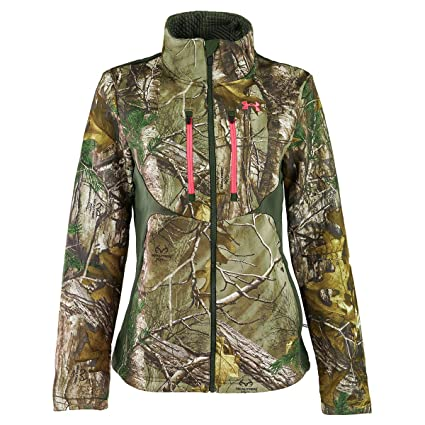 e27d953d6e45 Under Armour UA Coldgear Infrared Scent Control Speed Freek Jacket - Women s  Realtree AP-Xtra