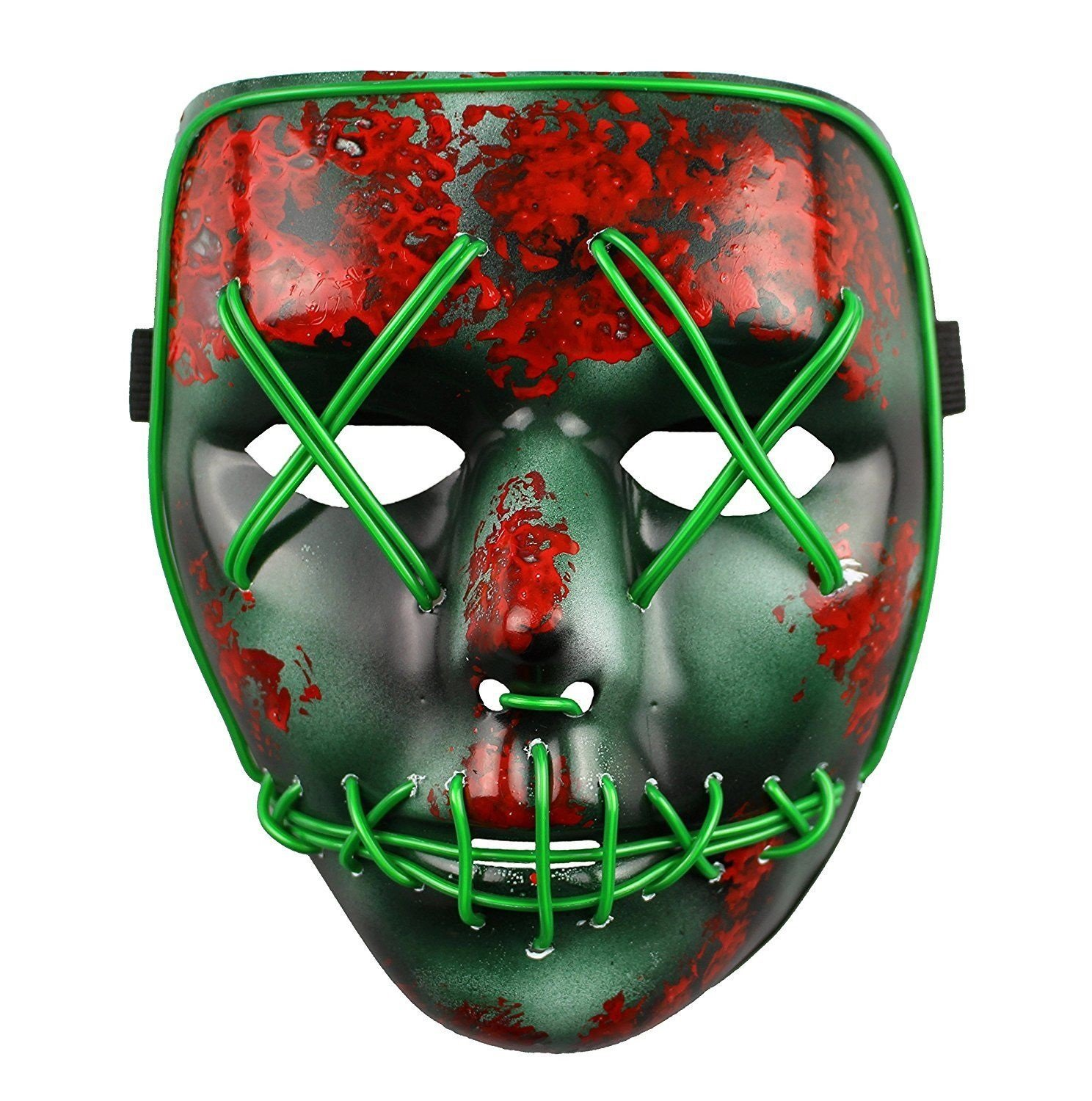 The Purge Election Year Light Up LED Halloween Mask - Universal Size by Toys And Masks