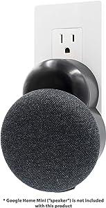 Plug-in Mount - Accessory for Google Home Mini (Black)