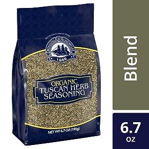 Drogheria & Alimentari Organic Tuscan Herb Seasoning, 6.7 oz