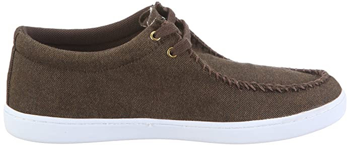 Keep Solis KP019AU11, Sneaker unisex adulto, Marrone (Braun/yarn dyed twill madras plaid), 41