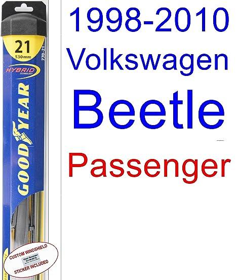 Amazon.com: 1998-2010 Volkswagen Beetle Wiper Blade (Passenger ...