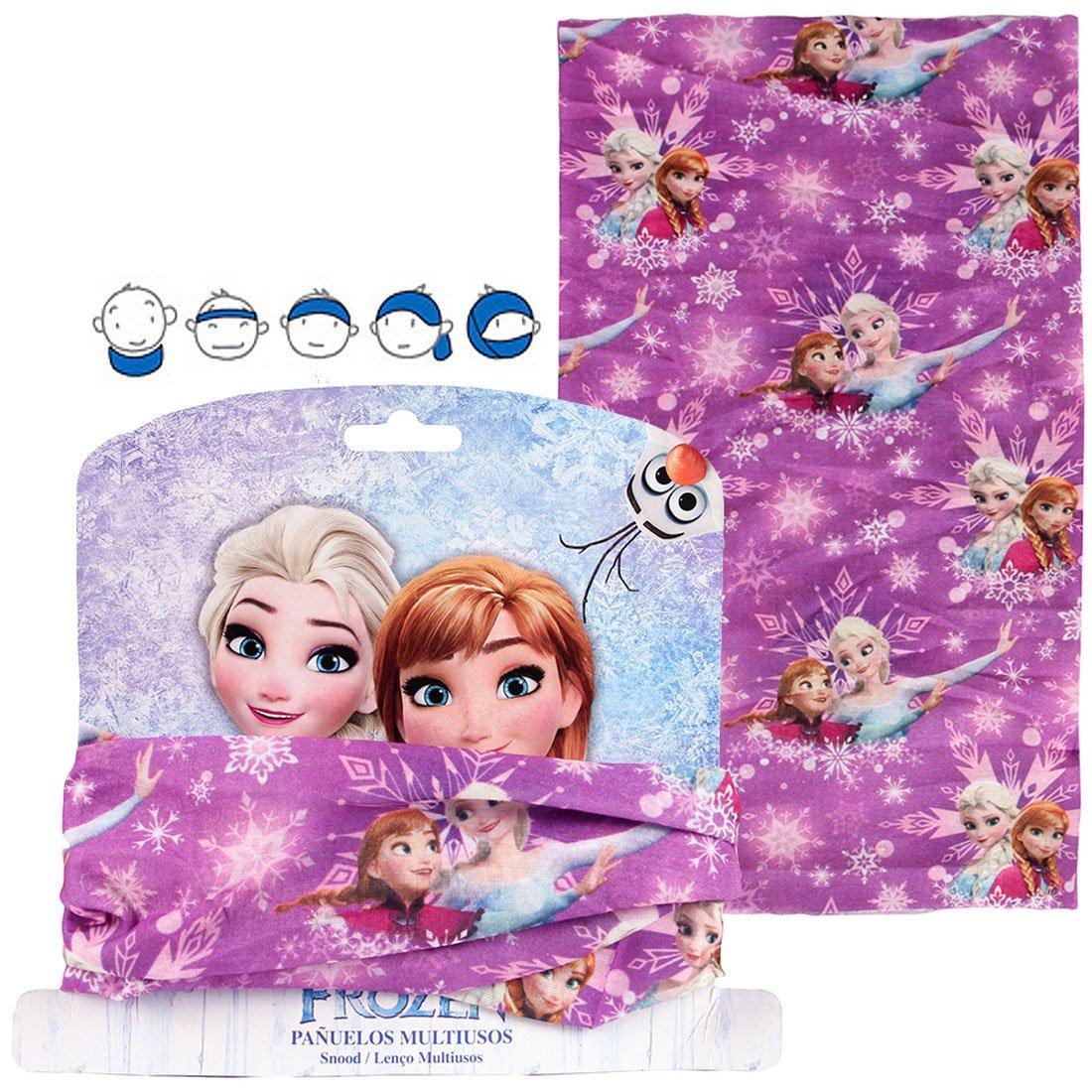 Fascia per capelli bandana multiuso Frozen 2200001613