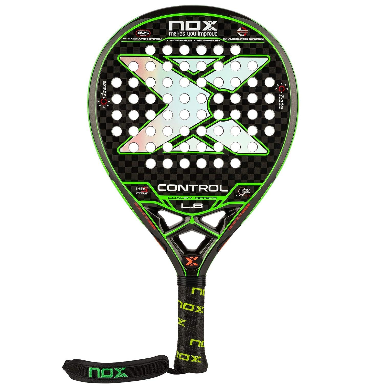Pala de pádel Nox LUXURY CONTROL L.6: Amazon.es: Deportes y ...