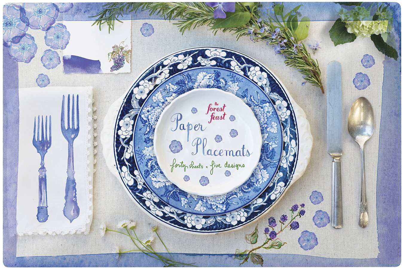 Forest Feast Paper Placemats Designs product image