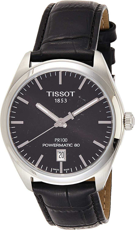 Tissot PR 100 Automatic Black Dial Mens Watch T101.407.16.051.00