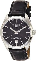 Tissot PR 100 Powermatic 80 Black Dial Men's Watch T101.407.16.051.00