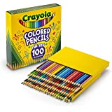 The Big 100 Colored Pencils, gift, 100 different colours, teachers, students, artist, craft