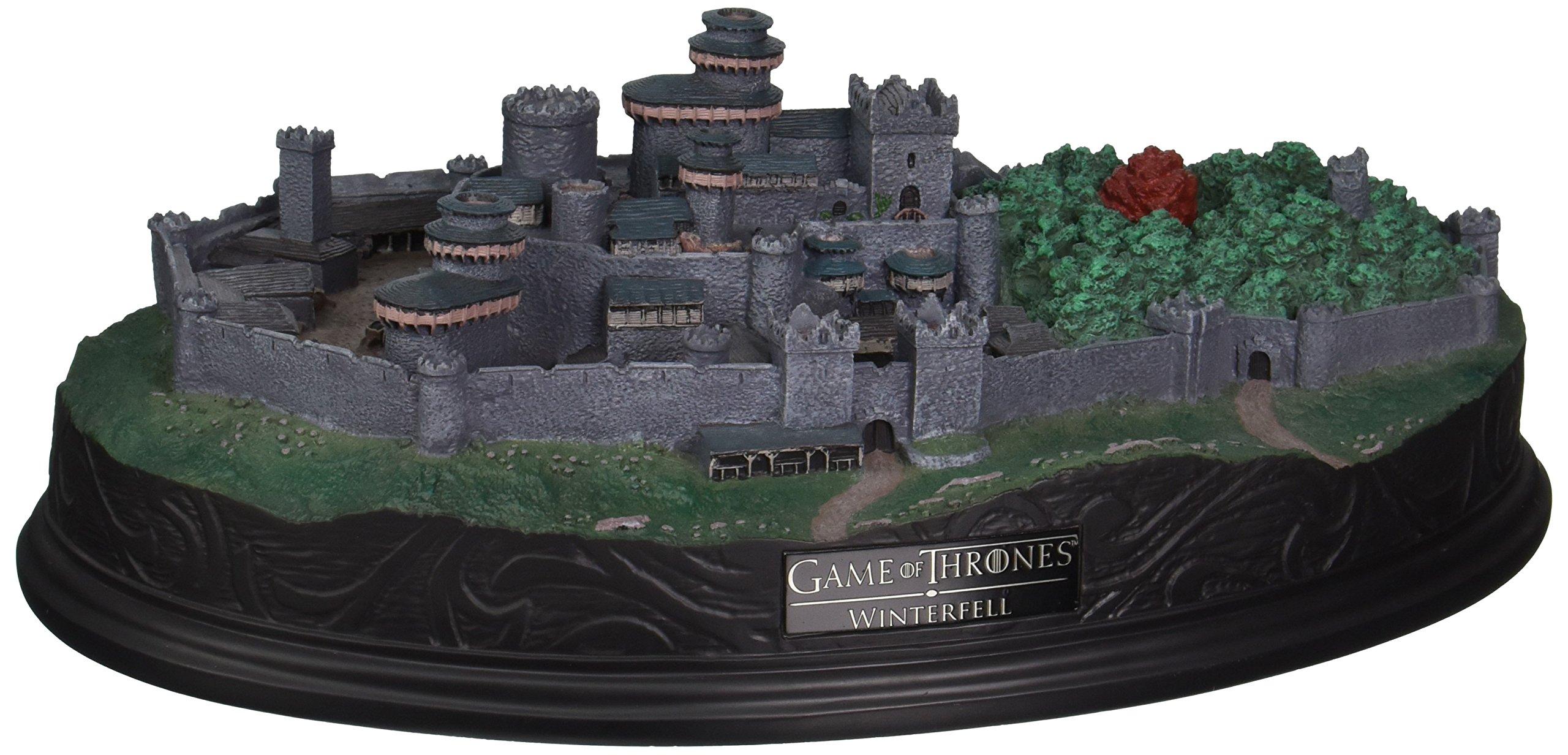 Factory Entertainment Game of Thrones Winterfell Desktop Sculpture