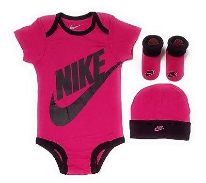 Nike Baby Girl Clothes Custom Amazon NIKE Baby Infant Baby Girls 60pc Short Sleeve Bodysuit