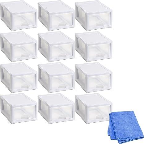 Amazon.com: Sterilite 20518006 6 cuartos/5,7 litros ...
