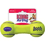 KONG Air Dog Squeaker Dumbbell Dog Toy - Medium