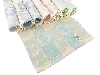 OFERTA, 8 pieza Rizo Manopla, toalla de tocador, paños secos, lavado Fleck