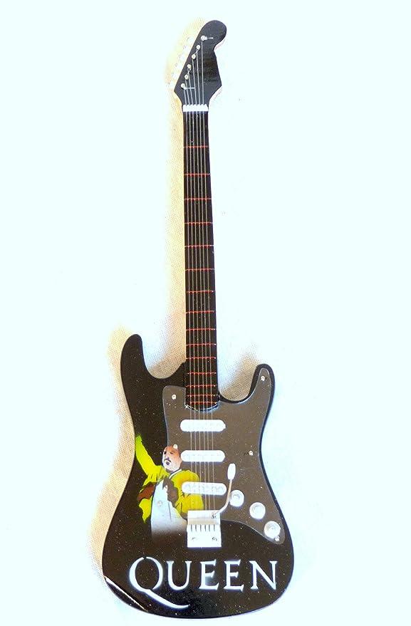 Guitarra en miniatura Mini Guitar Fender Stratocaster 24 cm madera ...