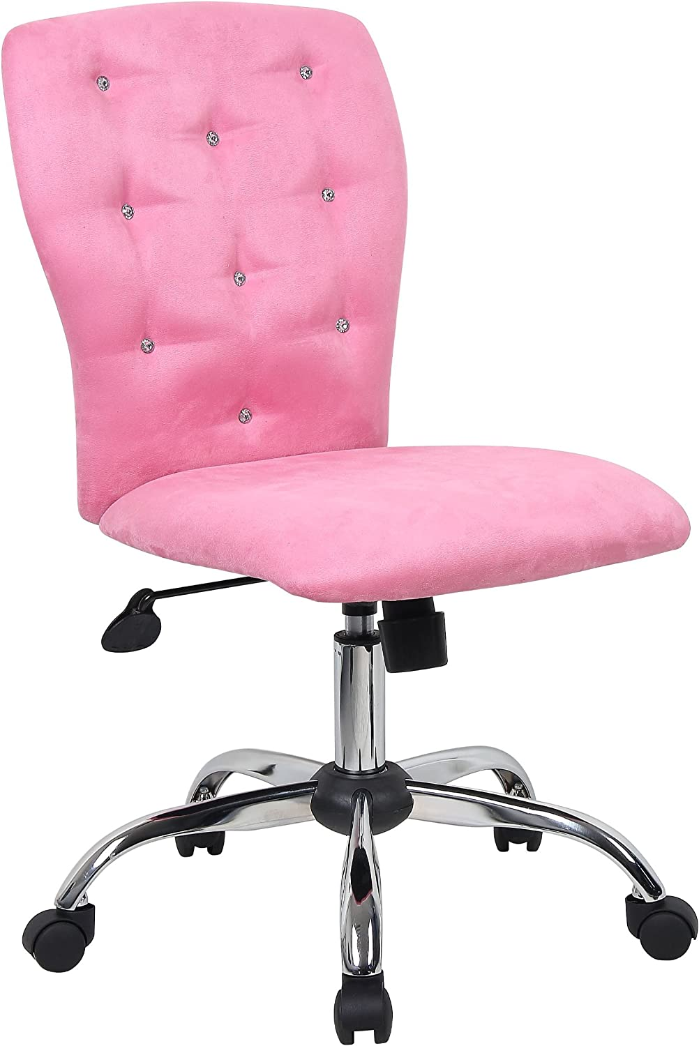 Boss Office Products Tiffany Office Chair – A modern office chair covered with microfiber