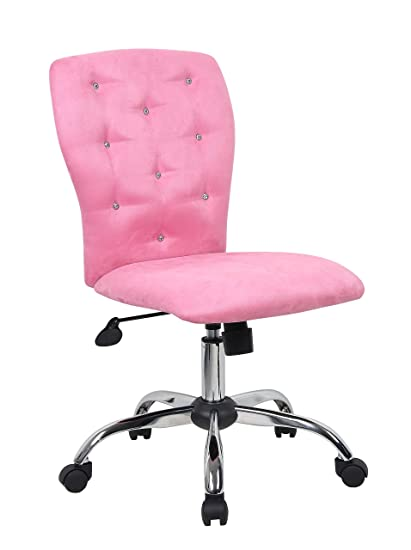 Amazoncom Boss Office Products B220 Pk Tiffany Modern Office Chair