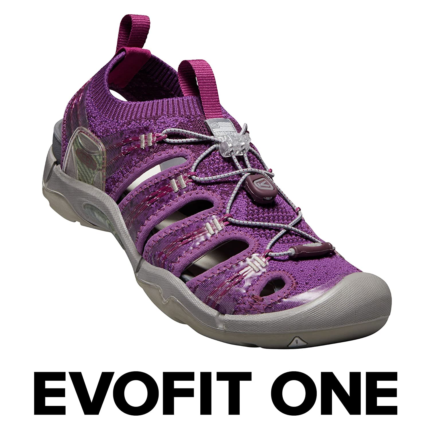 KEEN Women's EVOFIT ONE Water Sandal for Outdoor Adventures B071Y5G4ZF 7 M US|Grape Kiss/Grape Wine