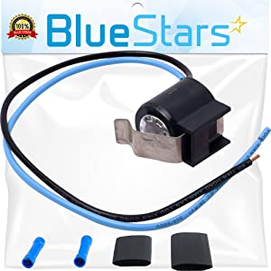 Ultra Durable 5303918214 Refrigerator Defrost Thermostat kit by Blue Stars - Exact Fit for Frigidaire Kenmore Electrolux fridges - Replaces 75303918214, 892545, AP2150145