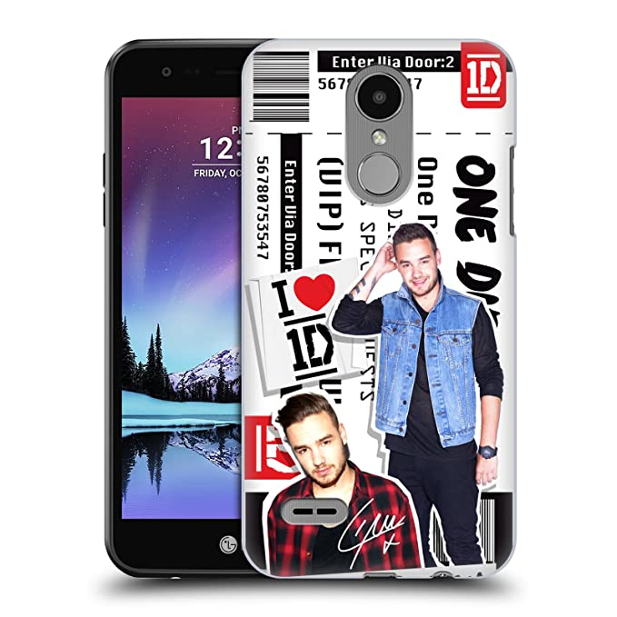 Amazon official one direction liam payne ticket love hard back official one direction liam payne ticket love hard back case for lg k4 2017 m4hsunfo