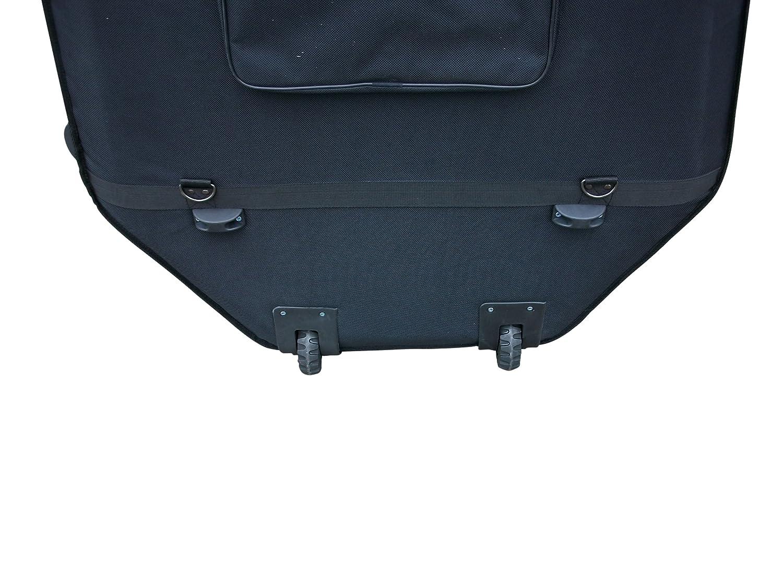 Maleta para contrabajo en negro 4/4 tamaño: Amazon.es: Instrumentos musicales