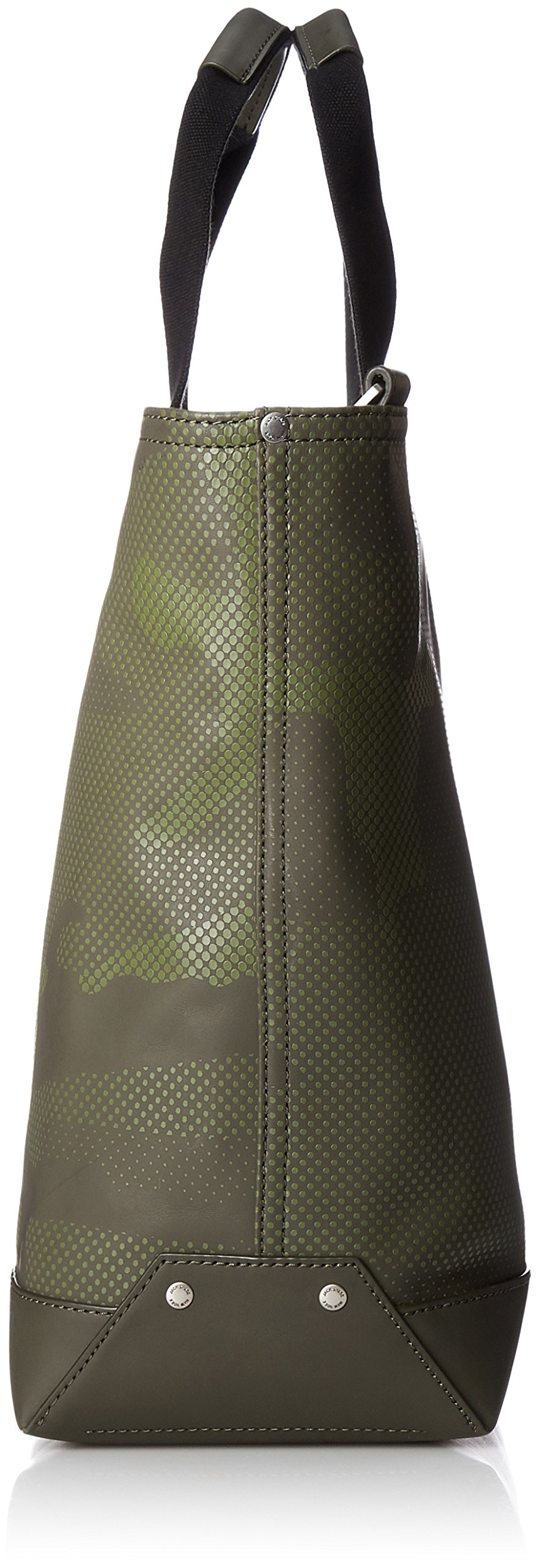 Jack Spade Men's Camo Dots Coal Bag, Army Green by Jack Spade (Image #3)