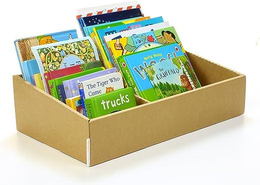 De cartón de librería: bebé y niño/Estante de libro caja de almacenaje