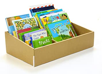 Enfants de Bibliothèque en carton : Bébé & Enfant Boîte de rangement ...