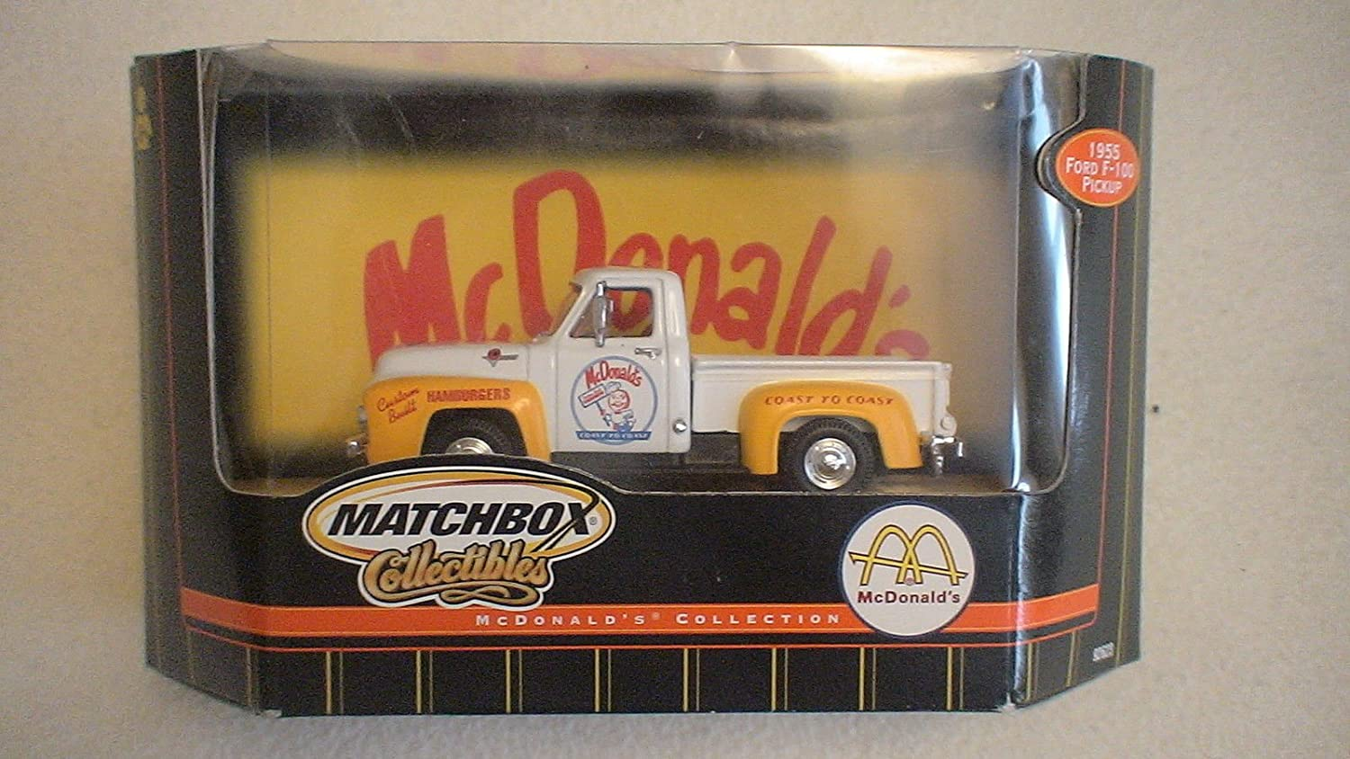Matchbox Collectibles Mcdonalds 1955 Ford F 100 F100 Thermostat Housing Pickup 143 Scale Toys Games