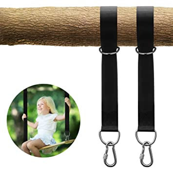Sports & Entertainment Weightlifting Belt Swing Straps High-strength Load-bearing Hammock Straps Outdoor Swing Strap Rope At All Costs