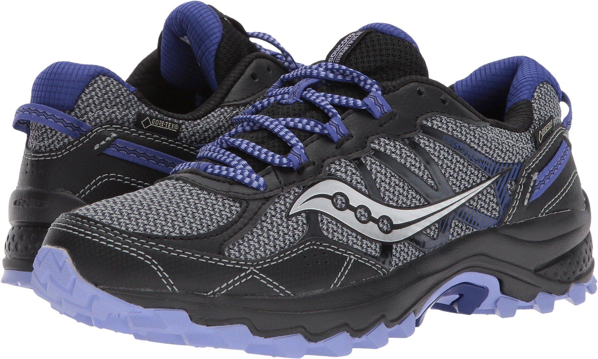 Saucony Women's Excursion TR11 GTX Running Shoe, Grey Purple, 6 Medium US