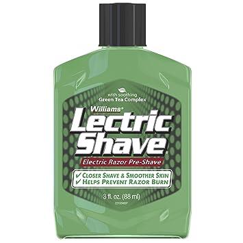 Amazon Com Lectric Shave Pre Shave Original 3 Oz First Aid