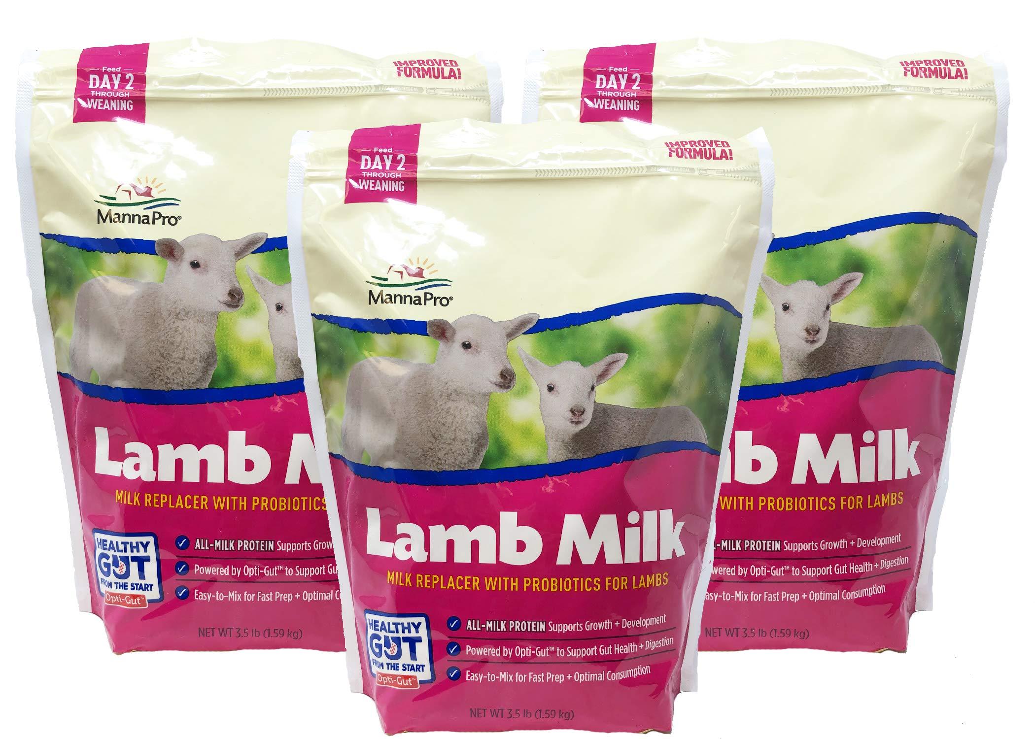 Manna Pro OV0010 Lamb Milk, Pack of 3, White by Manna Pro