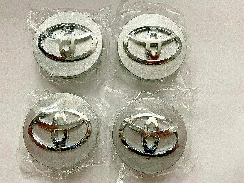 4X Toyota Wheel Center Hub Caps Silver 62MM Top Quality!