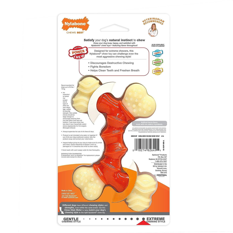 Pet Supplies Pet Chew Toys Nylabone Power Chew DuraChew Double