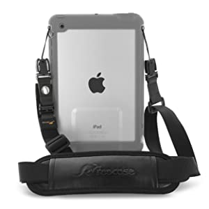 rooCASE Breakaway Clip Safety Shoulder Strap for LifeProof NUUD/FRE iPad Case, Break Away Strap Compatible with LifeProof Case for iPad Pro 9.7, iPad Air 2 1, iPad Mini 4, 3, 2, 1, Black