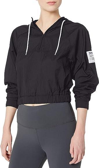 Spalding Womens Sportswear Retro Popover Hoodie