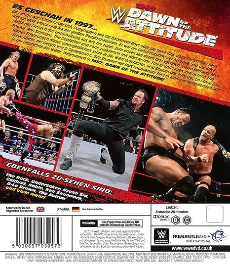 WWE: 1997 Dawn of the Attitude Era Alemania Blu-ray: Amazon ...