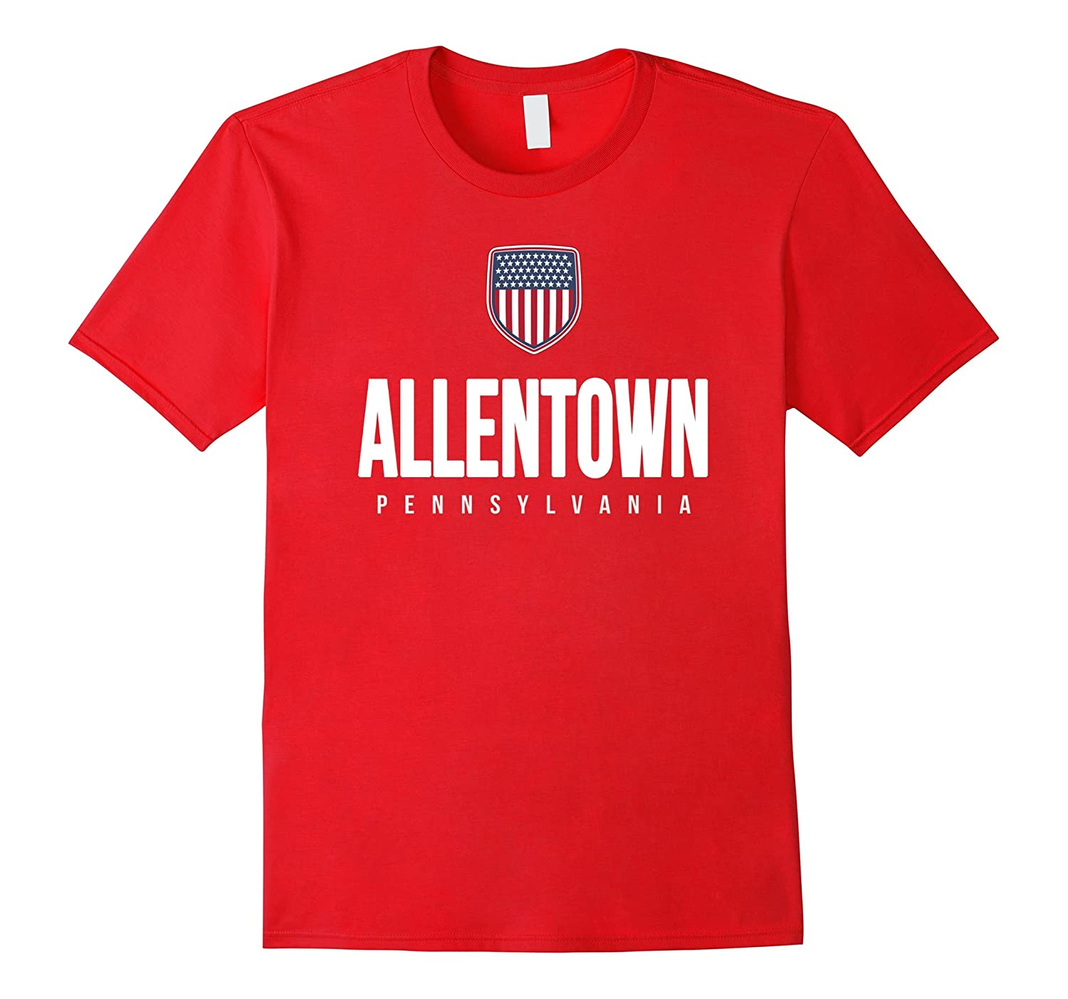 Allentown Pennsylvania T-shirt City Hometown Travel Souvenir-CD