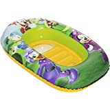 Juguetes Industriales-91003 Mickey Mouse Barquita hinchable, 101 x 68 cm Bestway 48-