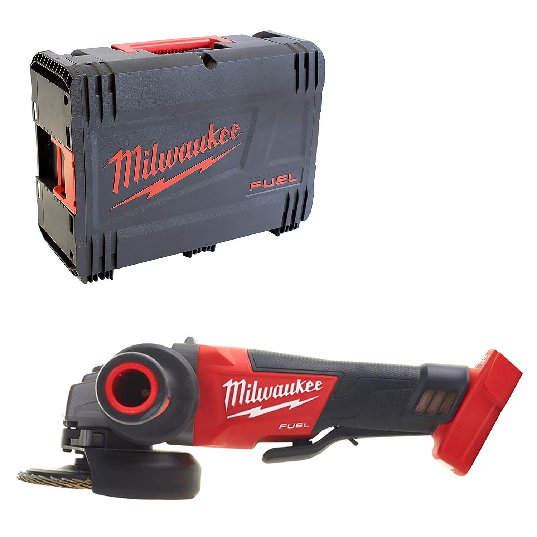 Milwaukee 4933451427 Elektrowerkzeuge bater/ía m18cag125xpd /ángulo 0 con Interruptor de Hombre Muerto y el Freno en la Caja HD
