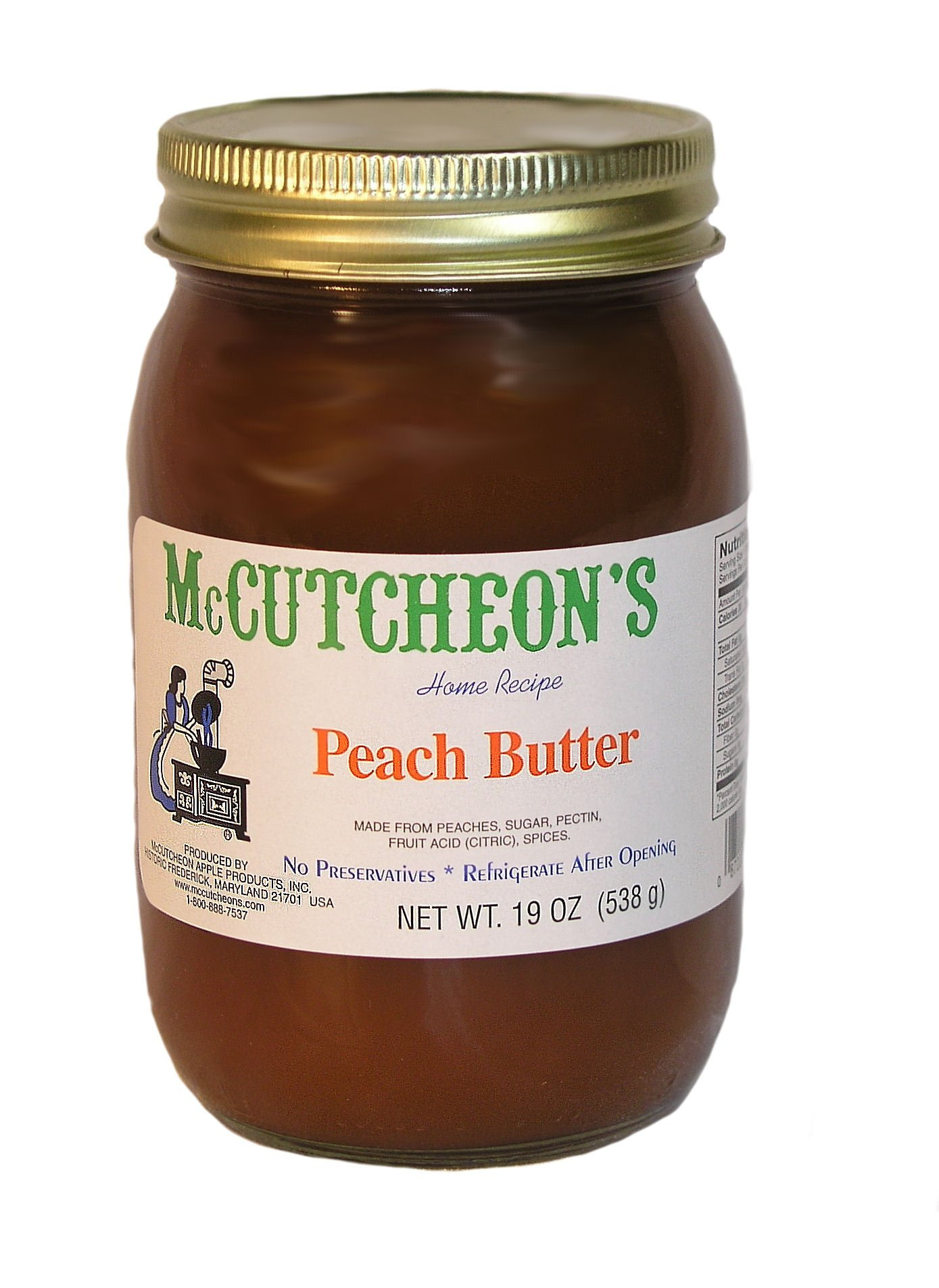 McCutcheon`s Peach Butter