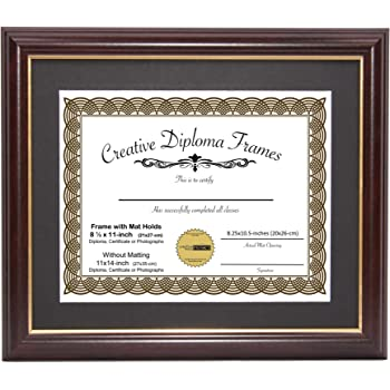 Amazon 3art Diploma Tassel Frame 11x85 Brandy 2018