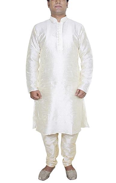 Camisa informal hombre pijama color blanquecino manga larga seda vestidos fiesta tallas grandes