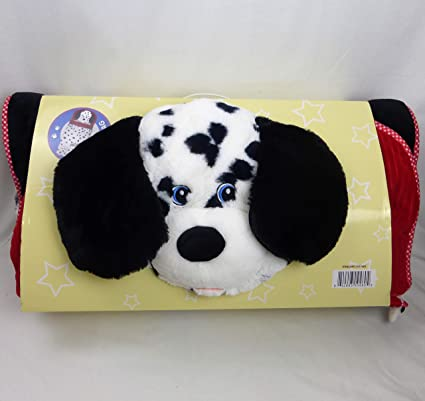 brand new 78c87 0631c Hugfun Animal Slumber Bag (Black & White Doggy)