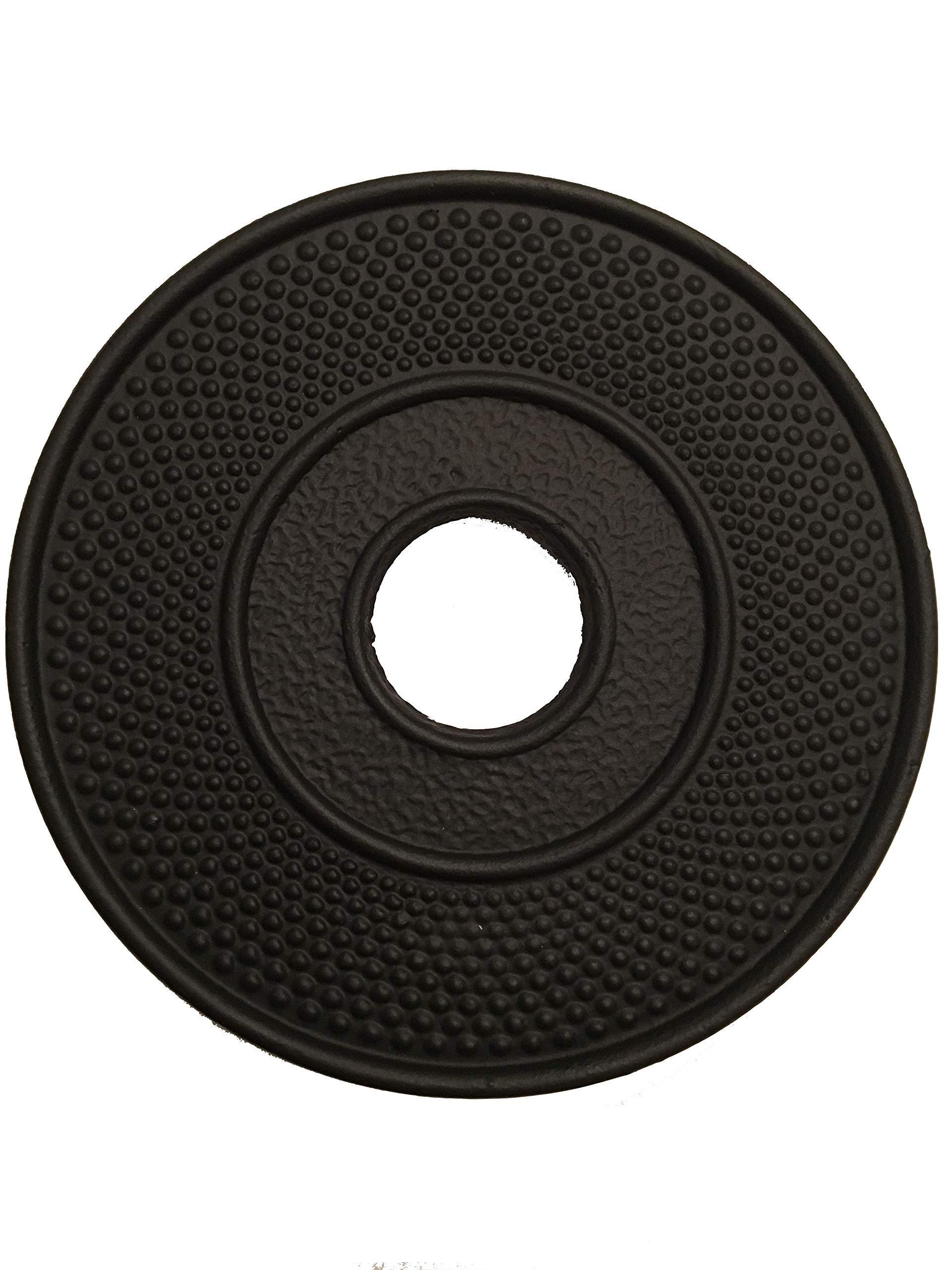 Cast Iron Trivet ARR Black, 4FreshAir, 4FRA-CITB