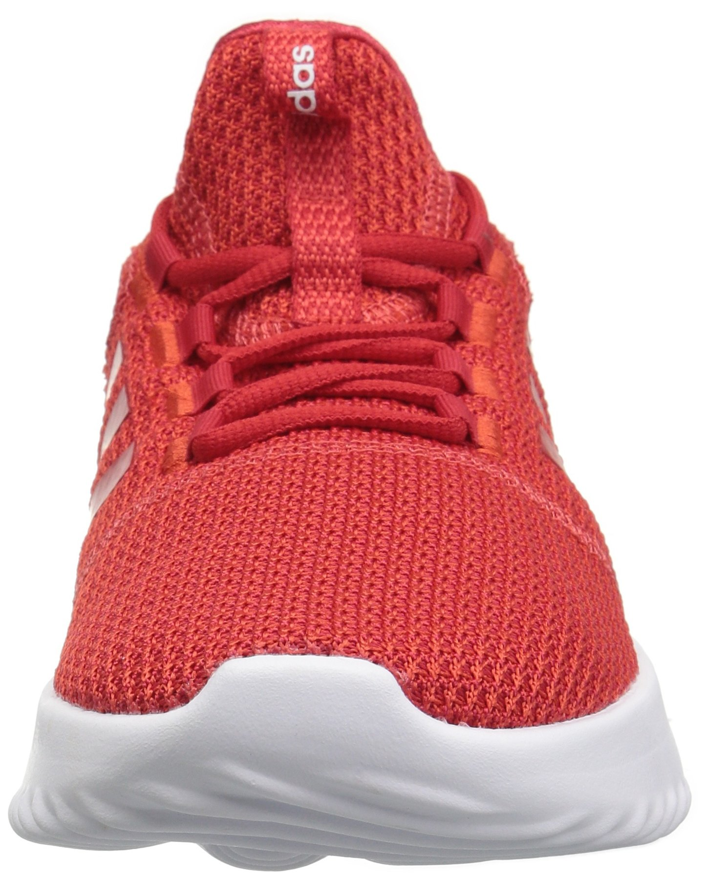 adidas Kids' Cloudfoam Ultimate Running Shoe, Red/Scarlet/Black, 1 M US Little Kid by adidas (Image #4)