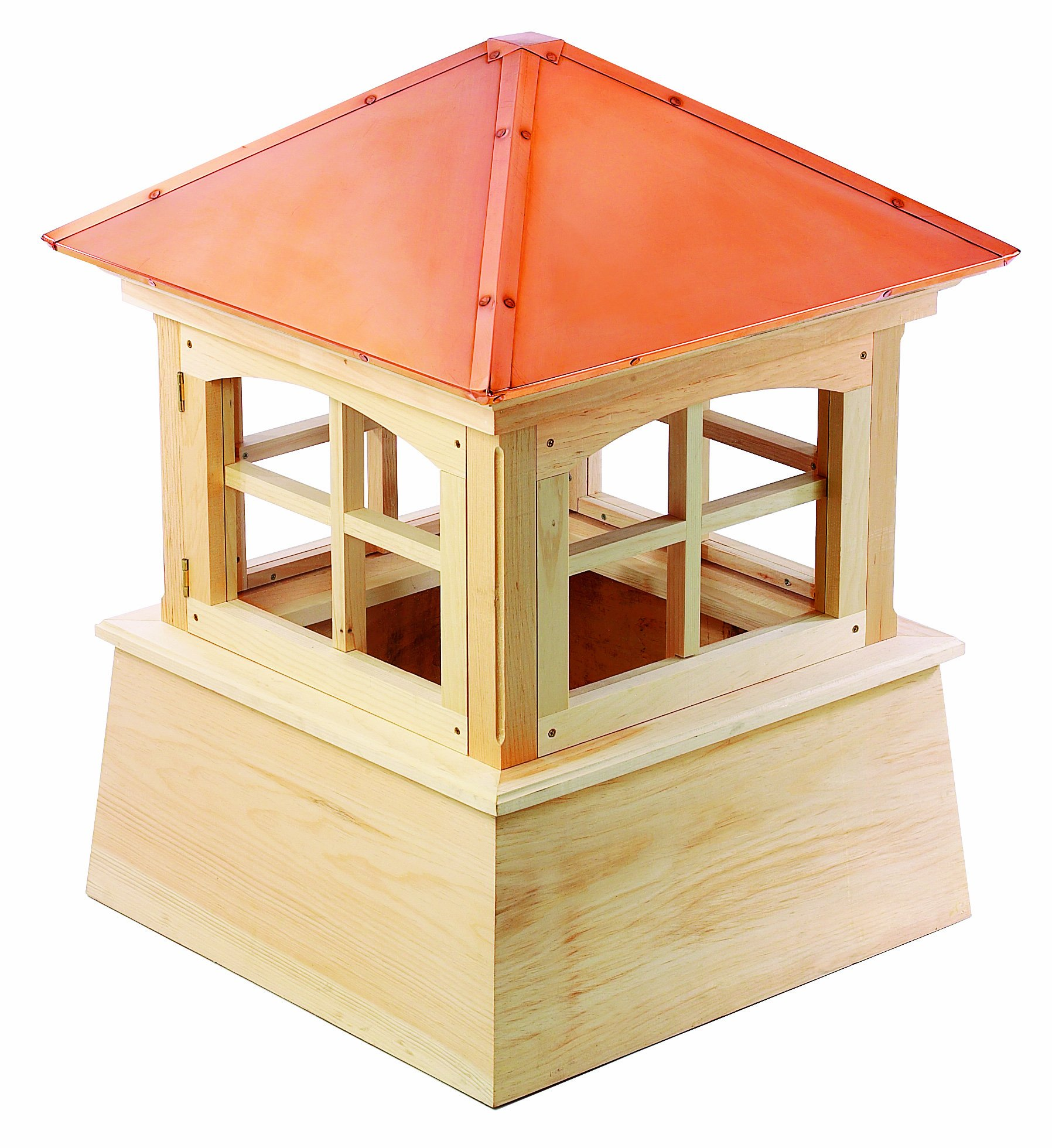 Good Directions Huntington Wood Cupola with Copper Roof, 22'' x 30''