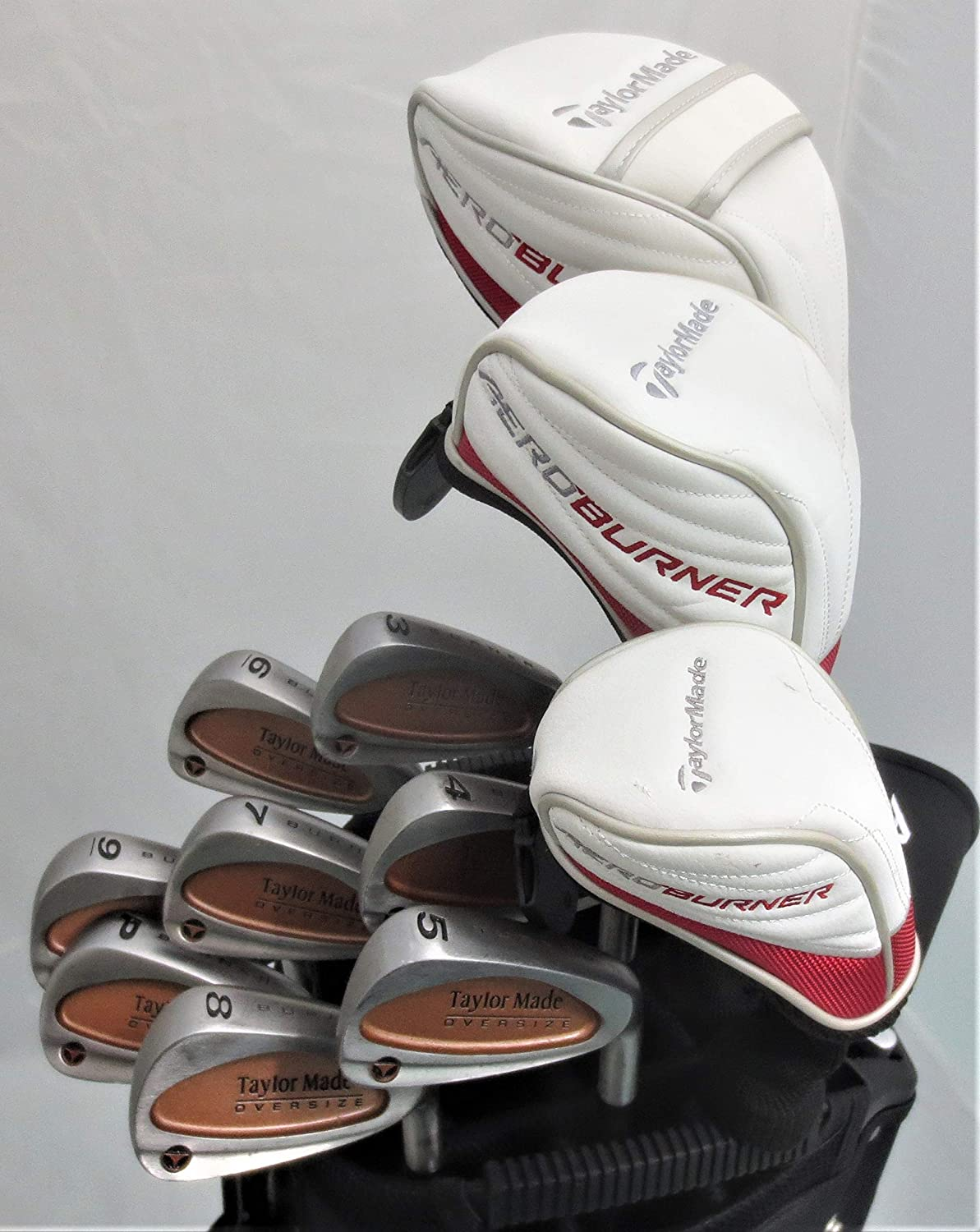 Amazon.com: Mens TaylorMade Set Completo de Golf conductor ...