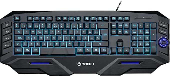 BigBen - Teclado Nacon Para Gaming (Windows)
