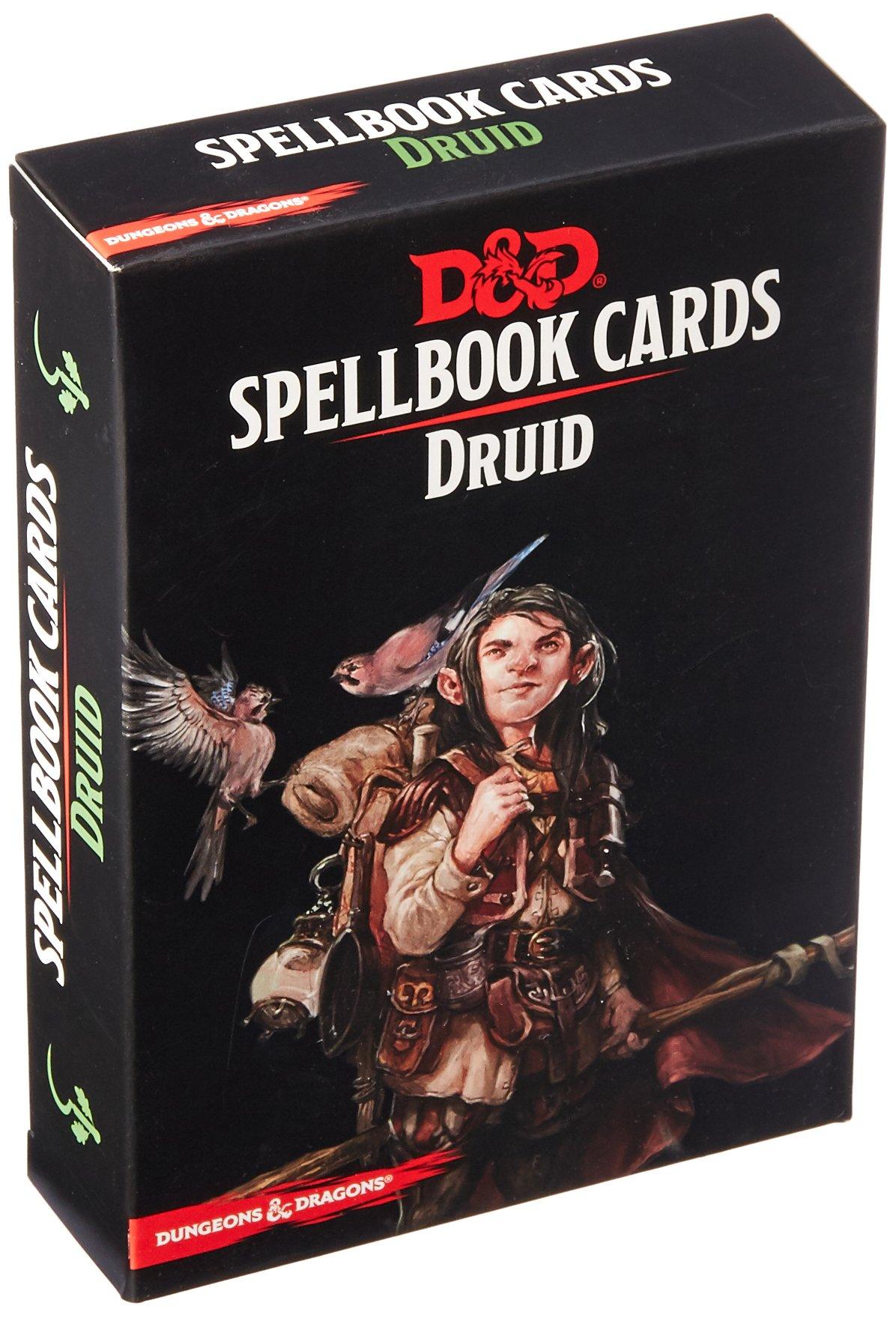73917 D&D: Spellbook Cards: Druid Deck